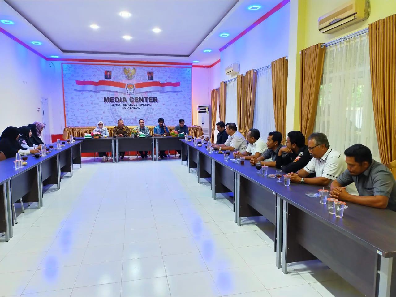 Bersama Kepala Biro SDM KPU RI